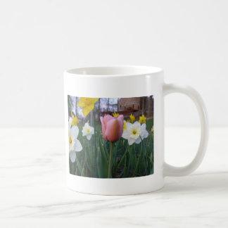 Tulipe de ressort mug blanc