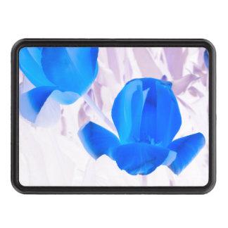 Tulipes bleues lumineuses couvertures d'attelage de remorque