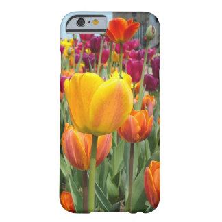 Tulipes dans le cas de l'iPhone 6 de brise