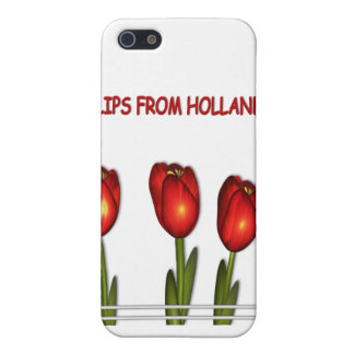 Tulipes de cas de l'iPhone 4 de © de la Hollande Coques iPhone 5