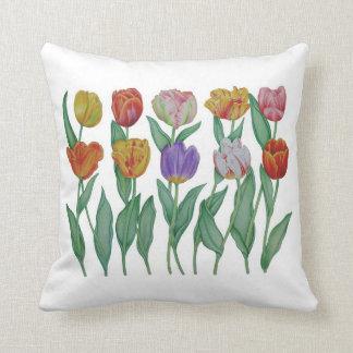 Tulipes de ressort oreillers