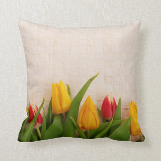 Tulipes de ressort coussin décoratif