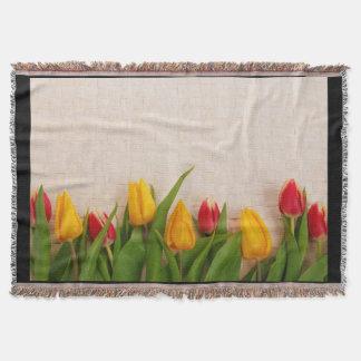 Tulipes de ressort couvre pied de lit