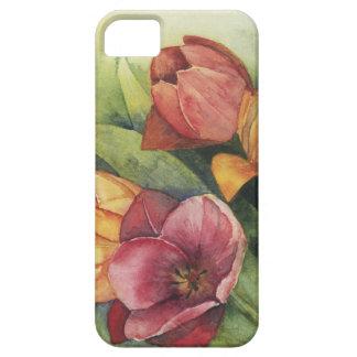 Tulipes de ressort étuis iPhone 5