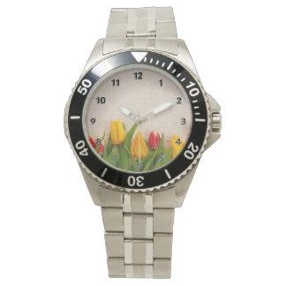 Tulipes de ressort montres bracelet