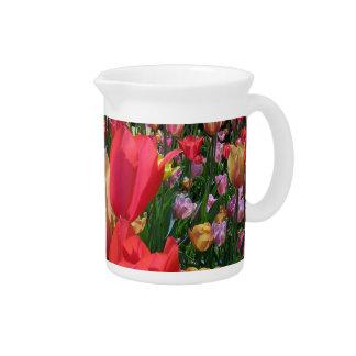 Tulipes de ressort pichets