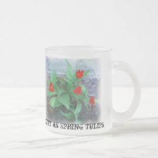 Tulipes de ressort pour la tasse de mamans
