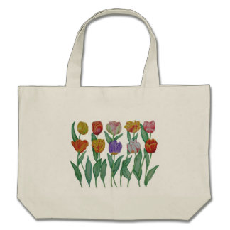 Tulipes de ressort sac fourre-tout