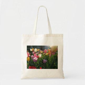 Tulipes de ressort sac en toile budget