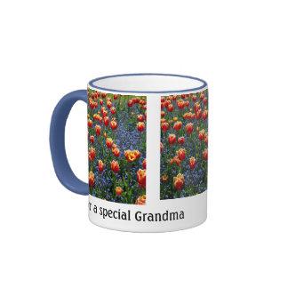 Tulipes gaies de ressort -- Grand-maman Mug Ringer