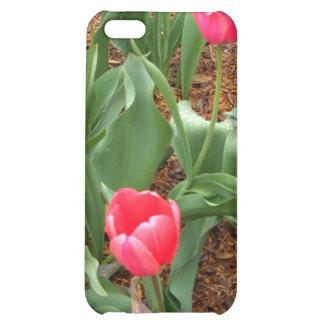 Tulipes roses de ressort par CricketDiane Coque Pour iPhone 5C