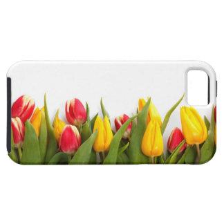 Tulipes rouges et jaunes coque iPhone 5