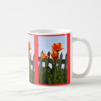 Tulipes rouges et jaunes mugs