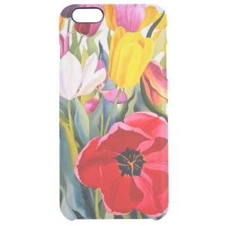 Tulips 2007 clear iPhone 6 plus case