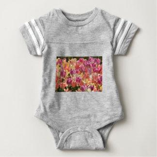 Tulips #2 baby bodysuit