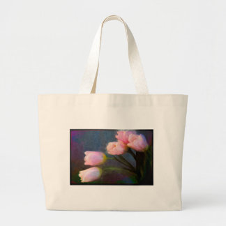 Tulips 2 large tote bag