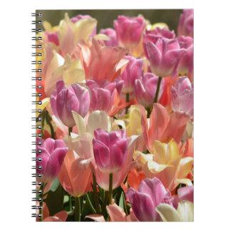 Tulips #2 spiral notebook