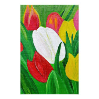Tulips 2a stationery