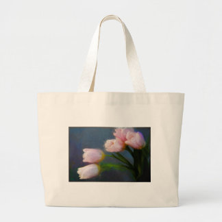 Tulips 3 large tote bag