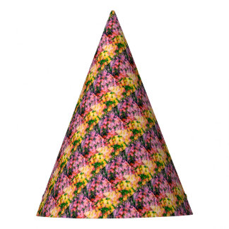 Tulips and Lilacs Party Hat