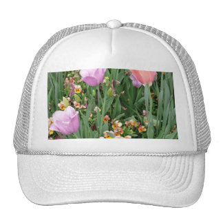 Tulips and Pansies Trucker Hat