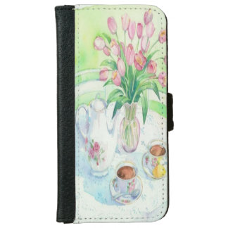 Tulips and Tea Time iPhone 6/6s Case