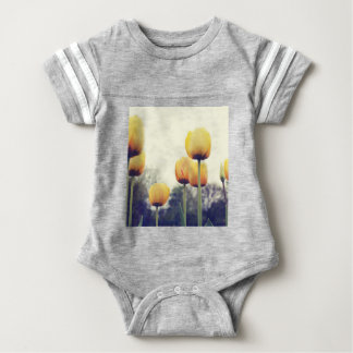 tulips baby bodysuit