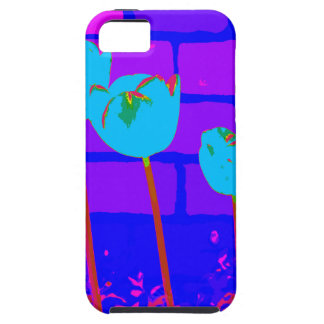 TULIPS BLUE iPhone 5 CASES