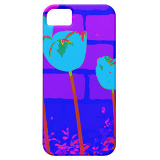 TULIPS BLUE iPhone 5 COVER