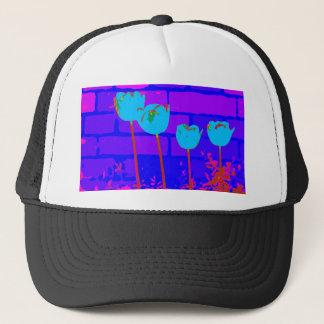 TULIPS BLUE TRUCKER HAT