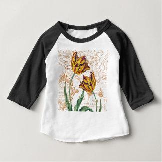 Tulips Chic Baby T-Shirt