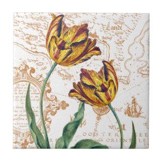 Tulips Chic Ceramic Tile
