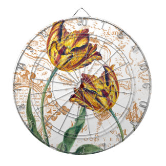 Tulips Chic Dartboard