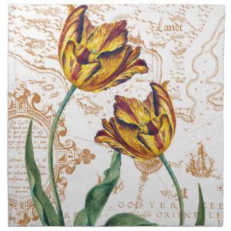 Tulips Chic Napkin