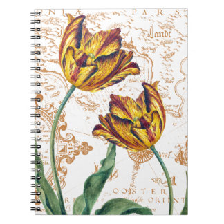 Tulips Chic Notebook