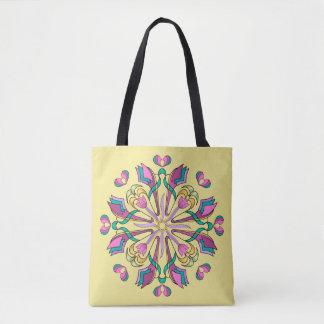 Tulips Circle - Tote Bag