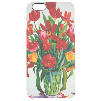 Tulips Clear iPhone 6 Plus Case