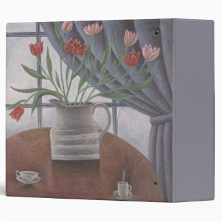 Tulips Curtain Cups 2002 3 Ring Binders