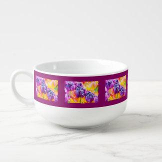 Tulips Enchanting beautiful and cool Soup Mug