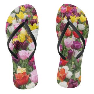 Tulips Flip Flops