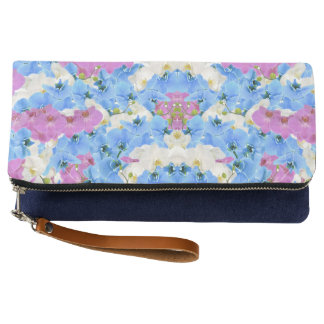 Tulips Floral Colorful  Clutch