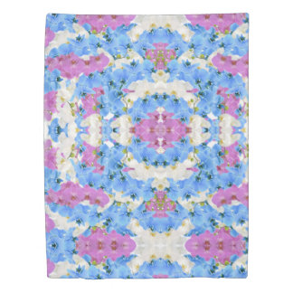 Tulips Floral Colorful Duvet Cover
