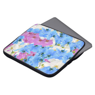 Tulips Floral Colorful Laptop Sleeve