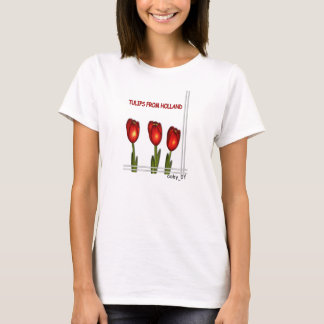 Tulips from the Netherlands © T-Shirt