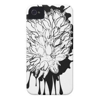 Tulips Grunge Sketch iPhone 4 Cover