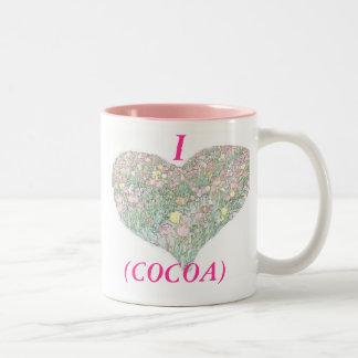 Tulips Hand Drawing Customizable Pink Mug