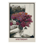 TULIPS in AMSTERDAM, poster