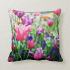 TULIPS IN FULL BLOOM CUSHION