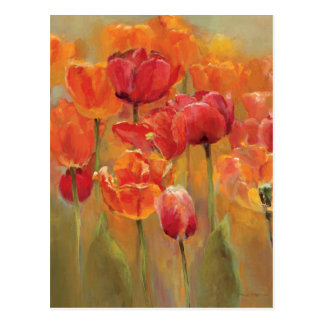 Tulips in the Midst Postcard