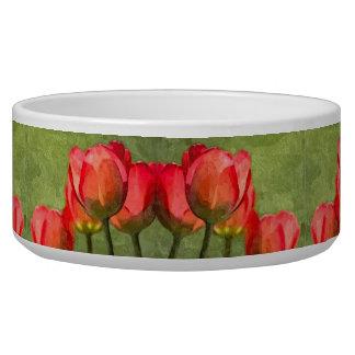 Tulips Large Pet Bowl